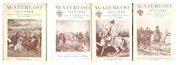 NAPOLEON  Lot 4 Revues Waterloo Illustré   1950 - Historia