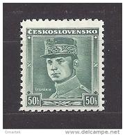 Czechoslovakia 1938 MNH ** Mi 402 Sc 252 M.R.Stefanik - Tschechoslowakei/CSSR