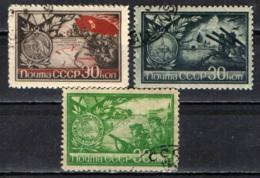URSS - 1944 - ONORE AI SOLDATI CHE HANNO DIFESO STALINGRADO, LENINGRADO, SEBASTOPOLI, ODESSA - USATI - 1923-1991 URSS