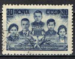 URSS - 1944 - EROI SOVIETICI DELLA SECONDA GUERRA MONDIALE - USATO - 1923-1991 URSS