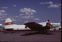 SLIDE / AVION / AIRCRAFT   ORIGINAL      BOEING B 17G  N3193G - Diapositives