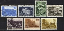 URSS - 1947 - LOCALITA' TURISTICHE IN UNIONE SOVIETICA - USATI - 1923-1991 URSS