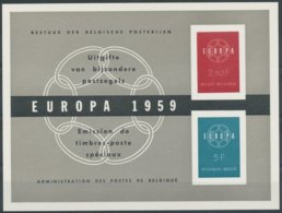 NN - [95186]NN-Belgique LX30, Le Feuillet Luxe Europa 1959 - Europa-CEPT