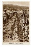 CPA - Cartes Postales--Espagne- Barcelona - Paseo De Gracia  -S4134 - Barcelona