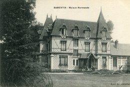 BARENTIN - Maison Normande Superbe Batisse - Barentin