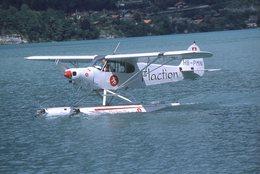 SLIDE / AVION / AIRCRAFT   ORIGINAL    PIPER PA 18 150  HB-PMN - Diapositives