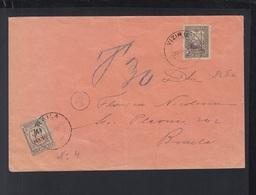 Romania Rumänien Brief Viziru Nach Braila 1918 - Lettres 1ère Guerre Mondiale