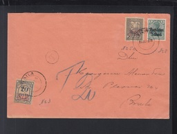 Romania Rumänien Brief Viziru Nach Braila 1918(2) - Storia Postale Prima Guerra Mondiale