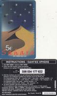 GREECE - SAHARA, Amimex Prepaid Card 5 Euro(807 4000), Tirage %20000, 03/03, Used - Greece
