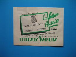 (1947) Copérative Vinicole LA SOLLIÈS-PONTOISE - Solliès-Pont (Var) - Vins Coteaux Varois - Mousseux Méthode Champenoise - Vieux Papiers