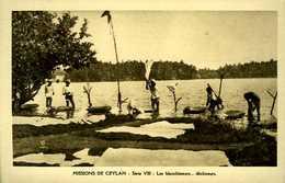 Sri Lanka : Les Blanchisseurs (missions De Ceylan) - Sri Lanka (Ceylon)