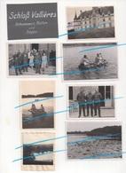 WW2 Allemands Wehrmacht Au Chateau De Vallières à MORTEFONTAINE Oise P. Plailly Senlis Creil ! - 1939-45