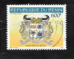 TIMBRE OBLITERE DU BENIN DE 2008 NON CATALOGUE - Bénin – Dahomey (1960-...)