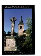 AUBRAC LOZERE - CROIX DU XII ET EGLISE DE SAINT-JUERY - Photographs