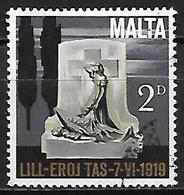 MALTE    -   1969.   Y&T N° 395 Oblitéré.  Monument - Malta