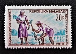 REBOISEMENT 1966 - NEUF ** - YT 419 - MI 545 - Madagascar (1960-...)