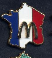 Pin's Carte De France Mac Donald's - McDonald's