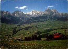 Unterwasser - Drahtseilbahn - SG St. Gallen
