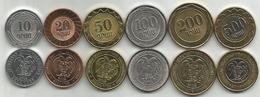 Armenia 2003/04. UNC Set Of 6 Coins : 10,20,50,100,200 And 500 Dram - Arménie