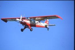 SLIDE / AVION / AIRCRAFT   ORIGINAL   PIPER PA 18M SUPER CLUB  HB-ORL - Diapositives