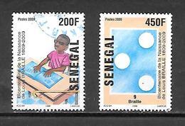 TIMBRE OBLITERE DU SENEGAL DE 2009 N° MICHEL 2146/47 - Senegal (1960-...)