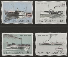 Neuseeland 1984 - MiNr. 893-896 - Postfrisch - Neufs