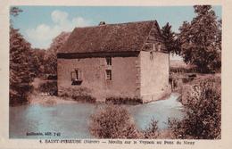 SAINT PEREUSE  PRES DE CHATEAU CHINON 58  ( MOULIN SUR LE VEYNON AU PONT DE NIRAY  ) - France