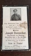 Sterbebild Wk1 Bidprentje Avis Décès Deathcard RIR6 LANGEMARK 1917 Aus Mimming - 1914-18