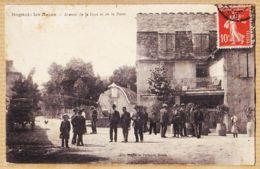 Nw5697 Peu Commun BAGNOLS-LES-BAINS Lozère Avenue De La Gare Et POSTE Animation Villageoise 1910s à MESSAGE Marseille - Autres Communes