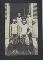 CPA Indochine Asie Carte Photo RPPC Voir Scan Du Dos Types - Viêt-Nam