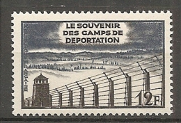 Yv. N° 1023  **  MNH  Camp De Concentration  Cote 1,25 Euro TBE - France