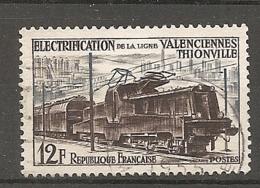 Yv. N° 1024  (o) Locomotive  Cote 1,6 Euro BE - France