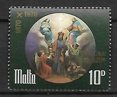 MALTE    -   1971.   Y&T N° 428 *.  Saint Joseph - Malta