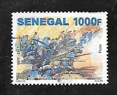 TIMBRE OBLITERE DU SENEGAL DE 2017 N° MICHEL 2257 - Senegal (1960-...)
