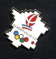 Pin's Carte De France Jeu Olympique Albertville - Olympic Games