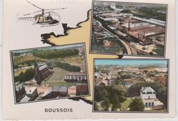 Nord :  BOUSSOIS  : Vues ,  Hélicopter   , Lapie - Autres Communes