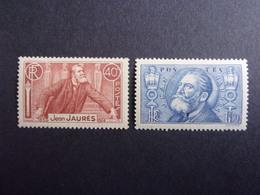 FRANCE YVERT 318/19 NEUF* 20 EURO - France