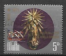 MALTE    -   1971.   Y&T N° 429 Oblitéré .  N-D. Des Victoires - Malta