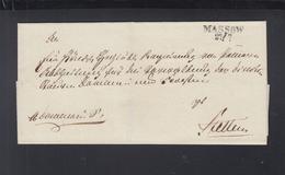 Falthülle Massow Nach Stettin - Preussen (Prussia)