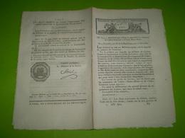An IX Bonaparte:Séparation Chêne Genevois & Chêne Mont Blanc(Genève).Collège Des Irlandais & Ecossais à Paris.Foires.... - Décrets & Lois