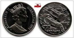 Gibraltar - 2,8 Ecus 1993 (Euro Tunnel) - Gibraltar