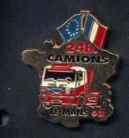 Pin's Carte De France Le Mans 24 H Camions - Badges