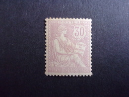 FRANCE YVERT 128 NEUF* 350 EURO - 1900-02 Mouchon