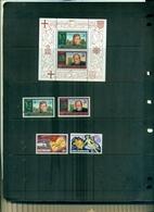 ASCENSION 100 U.P.U. - W.CHURCHILL 4 VAL + BF NEUFS A PARTIR DE 0.75 EUROS - Ascension (Ile De L')