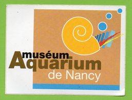 AQUARIUM MUSEUM DE NANCY * AUTOCOLLANT 214 * - Autocollants