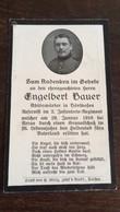 Sterbebild Wk1 Bidprentje Avis Décès Deathcard IR2 NEUVILLE ST. VAAST Block 1 GRab 232 Aus Hörlkofen - 1914-18