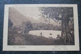 Tahiti Taiarapu Oceanie Française  Cpa Timbrée Oceanie - Polynésie Française
