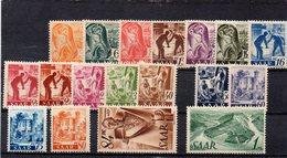 SARRE 1947 * MANQUE 2-45 PF. - 1947-56 Occupation Alliée