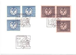 SVERIGE 1968 STOCKOLM  SIGIL BANCO COVER   (DICE180098) - Svezia