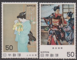 Japan SG1567-1568 1980 Modern Art 6th Issue, Mint Never Hinged - 1926-89 Emperor Hirohito (Showa Era)